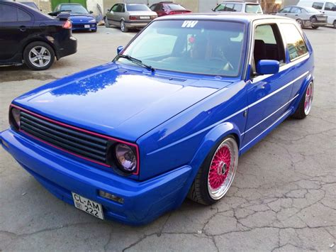 Auto Kr Ne by My Volkswagen Golf 2 Gti 3dtuning Probably The
