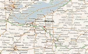 warren map warren ohio location guide