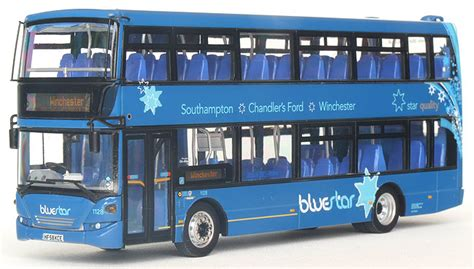 Deck Co Uk by Modelbuszone Cmnl Model Ukbus 9002 Bluestar Scania
