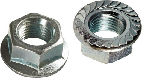 An 21 Km 21 Lock Nut m10x1 50 grade 8 steel hex flange lock nut 91522151 msc