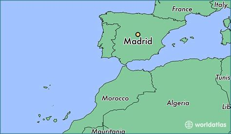 madrid spain on world map where is madrid spain madrid madrid map worldatlas