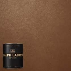 ralph lauren 1 qt gilt bronze metallic specialty finish interior paint me135 04 the home depot