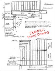 Deck Drawings Newsonair Org Building Plans For A Deck
