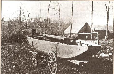 pontoon boat in spanish michigan in the civil war fredericksburg wkar