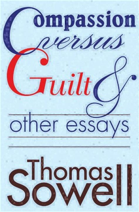 Sowell Essays by Books Sowell