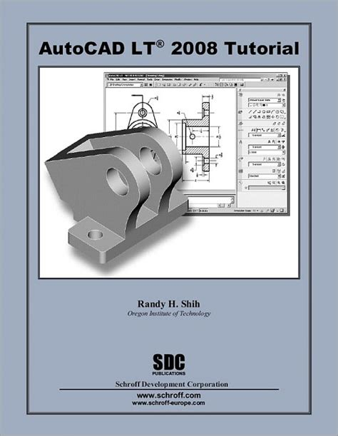 tutorial autocad lt pdf autocad lt 2008 tutorial book isbn 978 1 58503 369 0