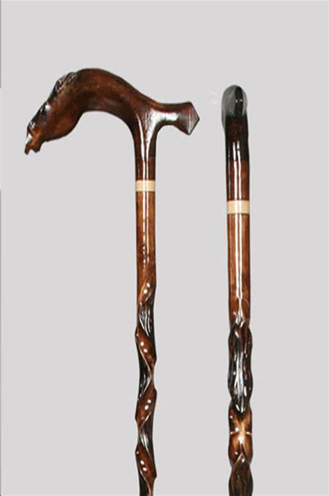 Handmade Wooden Canes - handmade special unique turkish wooden walking stick