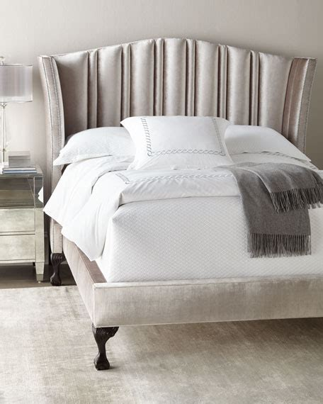 Horchow Beds by Haute House Eastwood Channel Tufted Beds