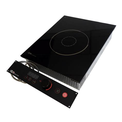 kitchen equipment induction cooktop dipo nbk26 a drop in commercial induction cooktop w 1 burner 2 600 watts 208 240v 1ph