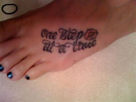 one step at a time tattoo foot one step at a time picture at checkoutmyink