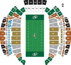 seating for view your seats saskatchewan roughriders