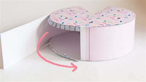 How To Make A Paper Cake - paper birthday cake 5