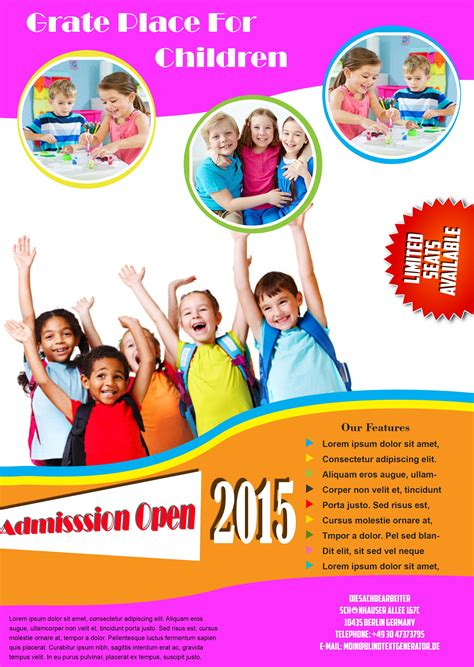 school templates free best free school flyer templates to light up your academic