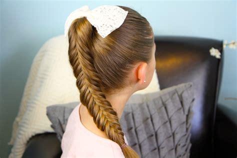 herringbone accent braids children s hairstyles reverse fishtail braid cute braid hairstyles cute
