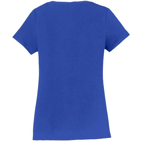 port and company fan favorite tee port company lpc450v ladies fan favorite v neck tee