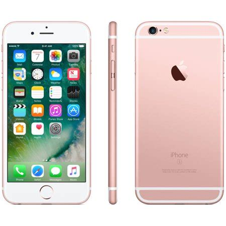 retire apple iphone 6s plus 32gb gold walmart