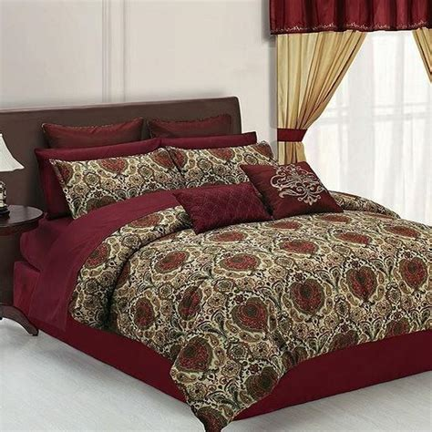 24 piece bed set hallmart collectibles lyon 24 piece queen comforter bed in