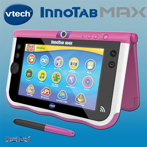 max console vtech innotab max console 7in pink
