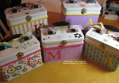 decorating lunch box tins sting with