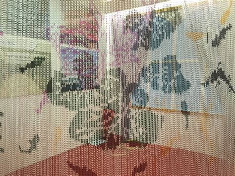 chain link curtains chain link curtain an ideal solution for doorway and