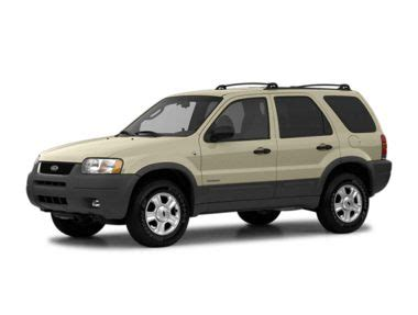 2004 Ford Escape Xls Value 100a Suv Ratings Prices