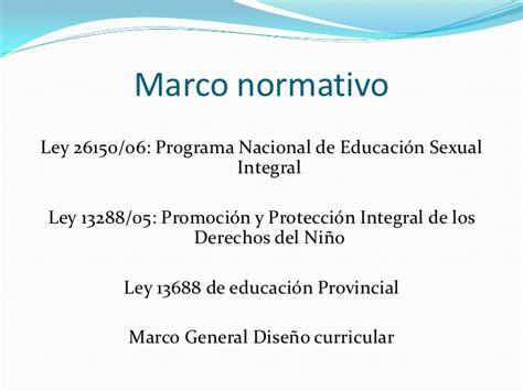 Diseño Curricular Nacional Concepto Educaci 243 N Sexual Integral