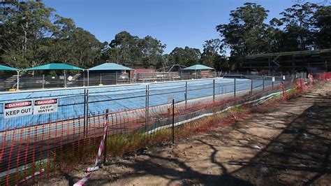 flower design dreghorn new west pymble pool on track to open next year local