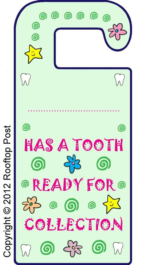 printable elf door printable tooth fairy door hanger i m sure we ll be