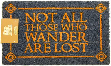 Lotr Doormat by Lord Of The Rings Doormat At Mighty Ape Nz