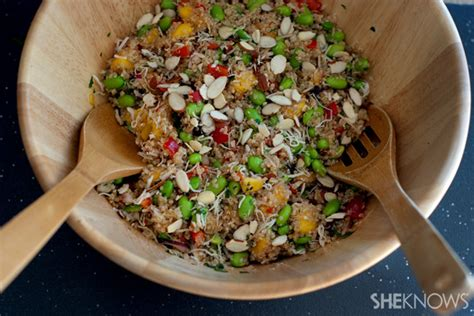 What To Put On A Salad Whole Foods Detox by Copycat Whole Foods California Quinoa Salad