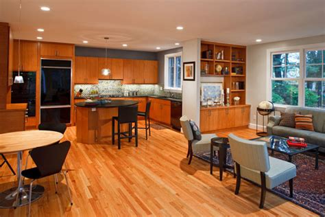 kitchen family room open floor plan open floor plans kitchen dining or family room integration traditional kitchen dc metro