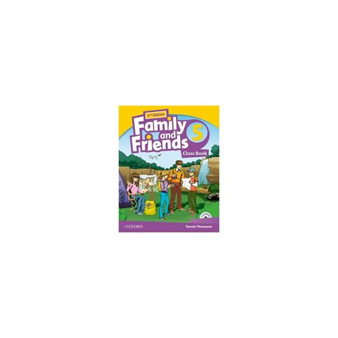 libro family and friends 5 family and friends 5 2nd ed class book multirom ed oxford libroidiomas
