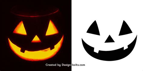 simple printable jack o lantern patterns 10 easy halloween pumpkin carving stencils patterns