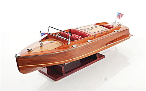 runabout boat lights chris craft runabout wood model 24 quot classic mahogany