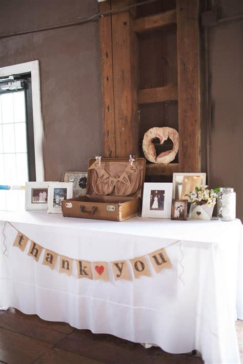 Round Table Gift Cards - photo via project wedding wedding pinterest burlap bunting vintage suitcases