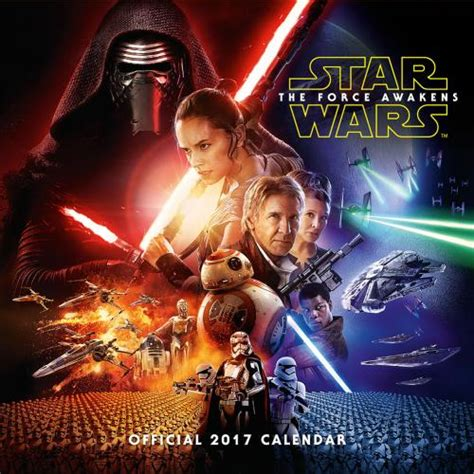film star wars 2017 star wars the force awakens calendar 2017 for only 163 11 25