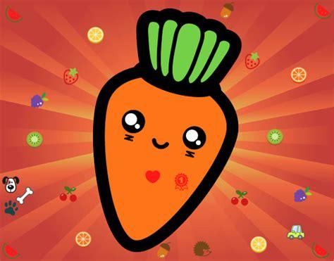 imagenes de zanahorias kawaii imagenes de verduras kawaii