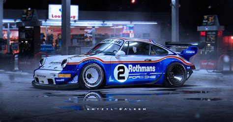 rothmans porsche rwb porsche 918 rendering is excellent enough to think