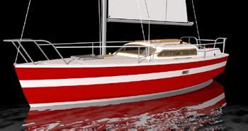 cruising sailboat plans sailboat designs  plans