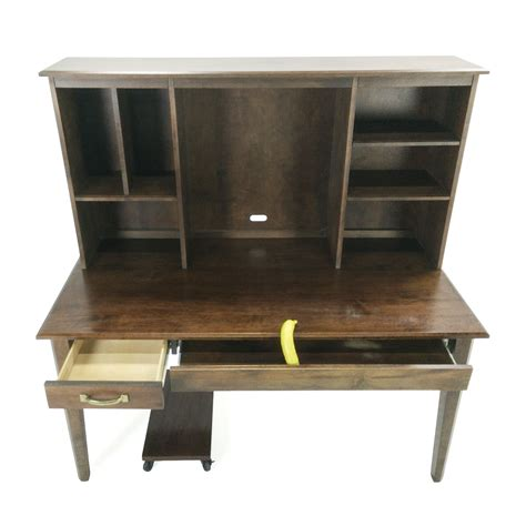 crate and barrel office desk 90 off crate and barrel crate barrel desk and hutch