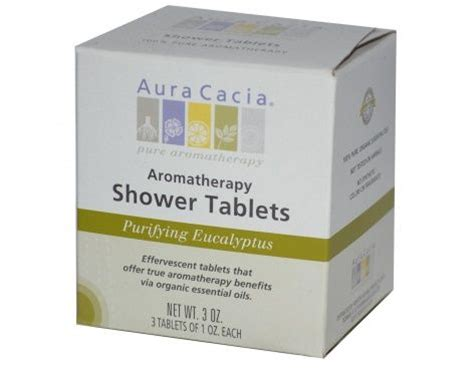 purifying eucalyptus aromatherapy shower tablets 3 tablets