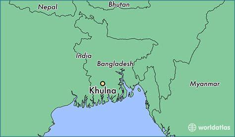 map of khulna city where is khulna bangladesh khulna khulna map