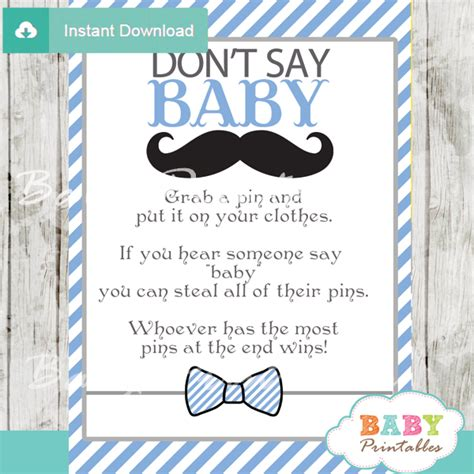 Mustache Baby Shower by Mustache Baby Shower Printables Www Imgkid The