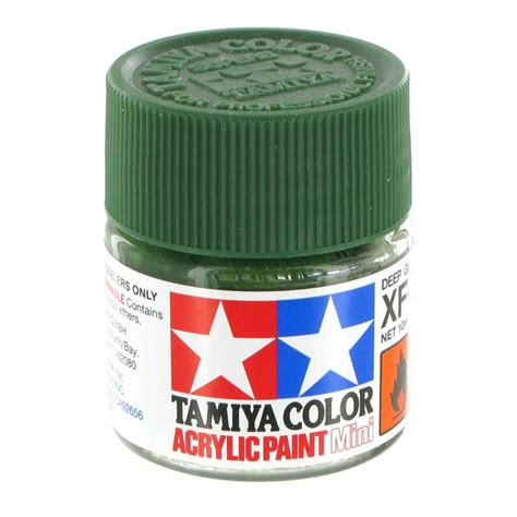 tamiya colour acrylic paint xf 26 green 10ml hobbycraft