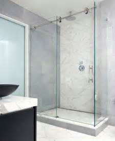sliding shower glass door sliding door shower enclosures for the contemporary bathroom