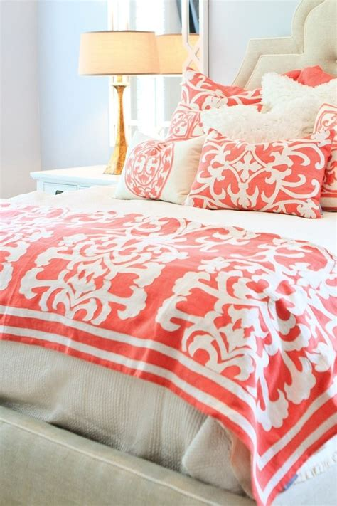 coral color bedding 79 best images about color coral on pinterest