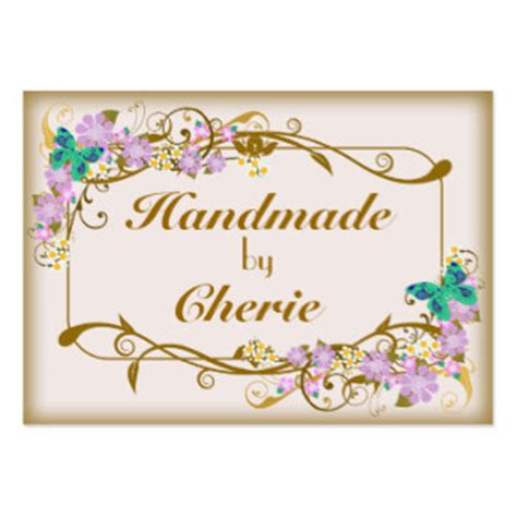 Business Cards For Handmade Crafts - for handmade items business cards 102 for handmade items