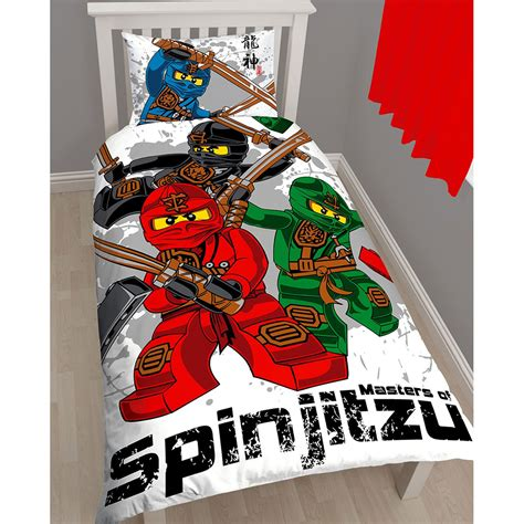 ninjago bed set lego ninjago warrior single duvet cover pillowcase set