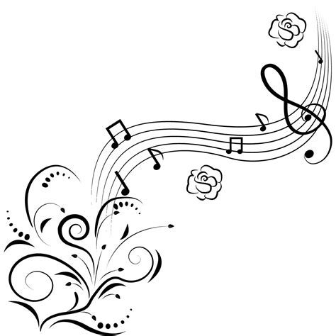 music scale coloring pages flower music drawing music notes coloring pages drawing