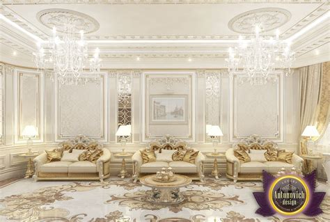 luxury antonovich design uae living room interior design